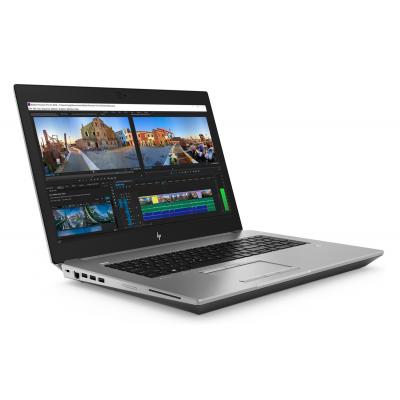 HP Zbook 17 G5 Intel Core i7 8750H Hexa Core RAM 8G HDD 1T 17.3 Windows 10 Pro Intel UHD 630 HP - 1