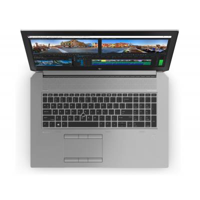HP Zbook 17 G5 Intel Core i7 8750H Hexa Core RAM 8G HDD 1T 17.3 Windows 10 Pro Intel UHD 630 HP - 4