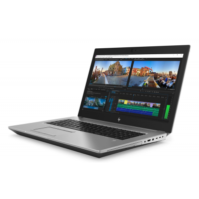 HP Zbook 17 G5 Intel Core i7 8750H Hexa Core RAM 16G SSD 512G 17.3 Windows 10 Pro Nvidia Quadro P2000 4 Go HP - 3