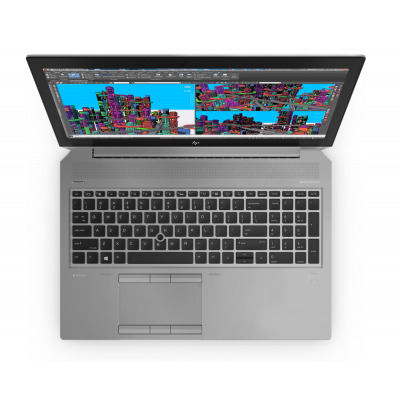HP Zbook 15 G5 Intel Core i7 8750H Hexa Core RAM 8G SSD 512G 15.6 Windows 10 Pro Nvidia Quadro P1000 4 Go HP - 4