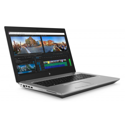 HP Zbook 17 G5 Intel Core i7 8850H Hexa Core RAM 16G SSD 256G 17.3 Windows 10 Pro Nvidia Quadro P3200 6 Go HP - 1