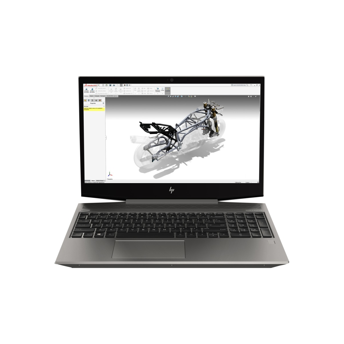 HP Zbook 15v G5 Intel Core i7 8750H Hexa Core RAM 16G SSD 256G 15.6 Windows 10 Pro Nvidia Quadro P600 2 Go HP - 1