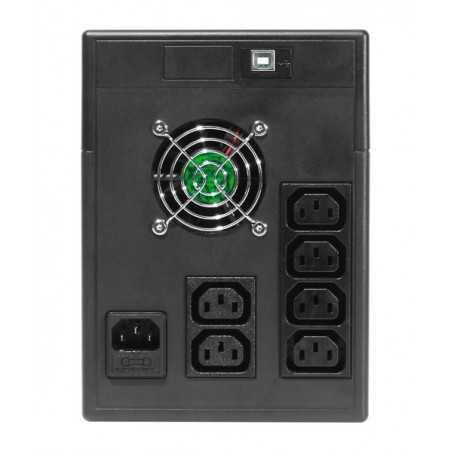 Riello onduleur Net Power 1500 line interactive USB Produit FR UPS ASI Riello - 5