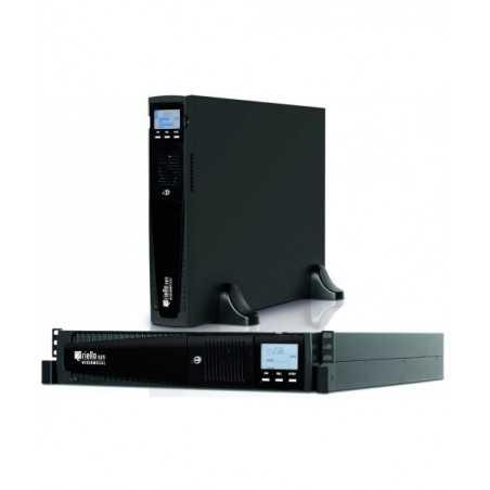 Riello onduleur Vison Dual 1100 line interactive Produit FR rackable UPS ASI Riello - 1