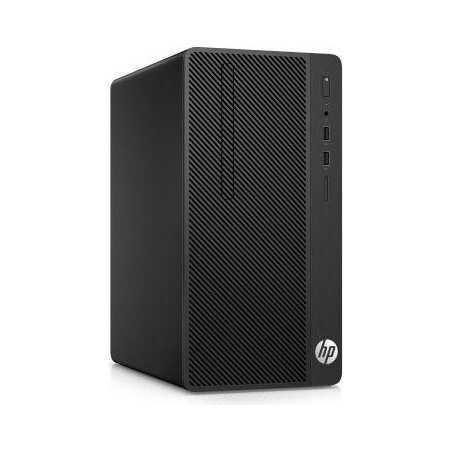 HP 290 G1 MT Intel Core i3 7100 Dual Core 4GB 500GB DVDRW Windows 10 Unité Centrale HD HP - 1