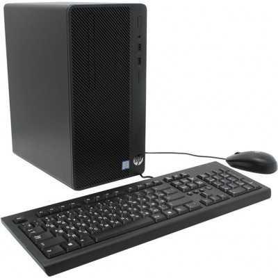 HP 290 G1 MT Intel Core i3 7100 Dual Core 4GB 500GB DVDRW Windows 10 Unité Centrale HD HP - 4
