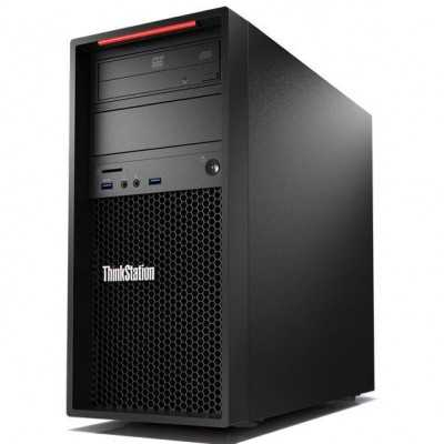 Lenovo P310 ThinkStation intel Quad Core Xeon E3 1220 v5 16GB 180GB SSD DVDRW Windows 10 Pro Gamer Workstation Lenovo - 1